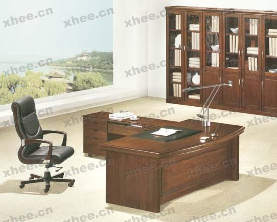 北京办公家具网提供生产简洁老板台厂家