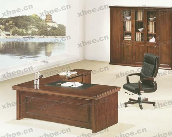 檀木老板台|班台|北京办公家具网提供生产檀木老板台