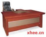 红木美式老板台