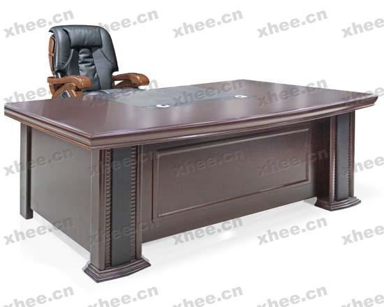 北京办公家具网提供生产经典实木老板台厂家