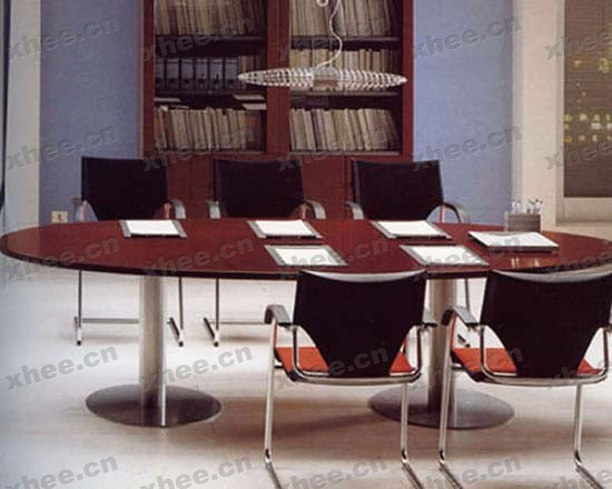 北京办公家具网提供生产椭圆形会议桌厂家