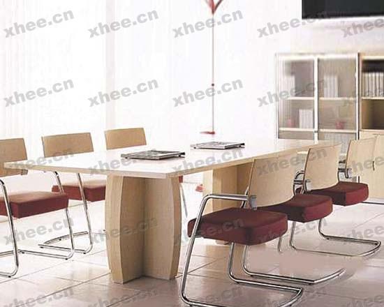北京办公家具网提供生产花瓣腿会议桌厂家