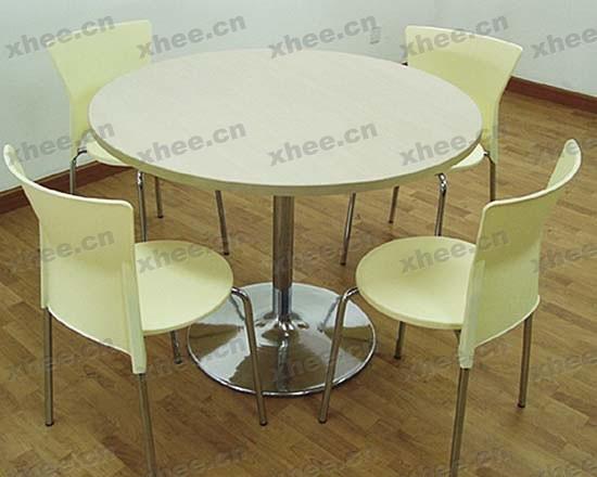 北京办公家具网提供生产白色圆形会议桌厂家