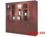 优质原木书柜