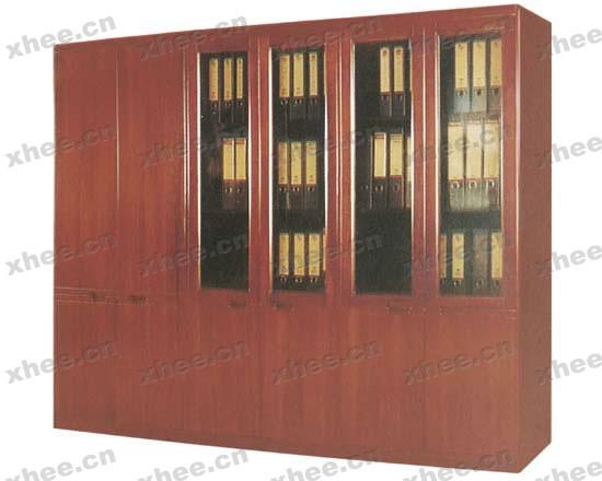 北京办公家具网提供生产高级檀木书柜厂家