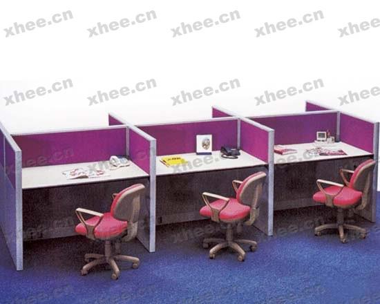 北京办公家具网提供生产粉色系屏风厂家