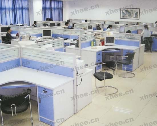 北京办公家具网提供生产转角屏风厂家