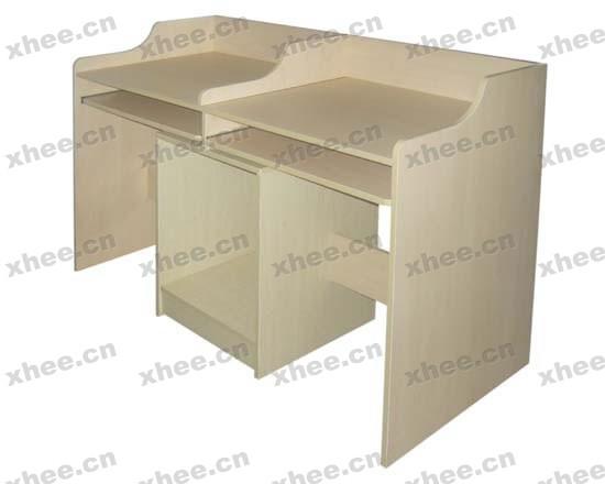 北京办公家具网提供生产实木无屉职员桌厂家