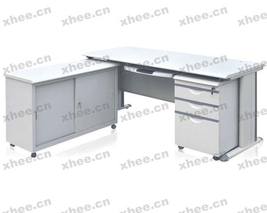 北京办公家具网提供生产时尚转角职员桌厂家