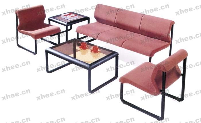 北京办公家具网提供生产红色系配套办公沙发厂家