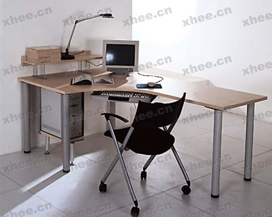 北京办公家具网提供生产胡桃色经理台厂家