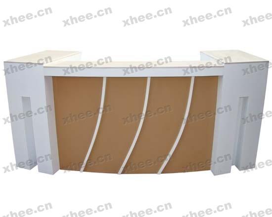 北京办公家具网提供生产高档实木前台厂家