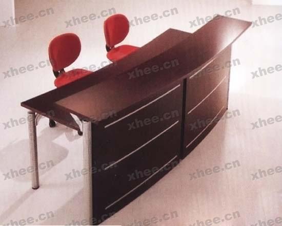 北京办公家具网提供生产高档接待前台厂家